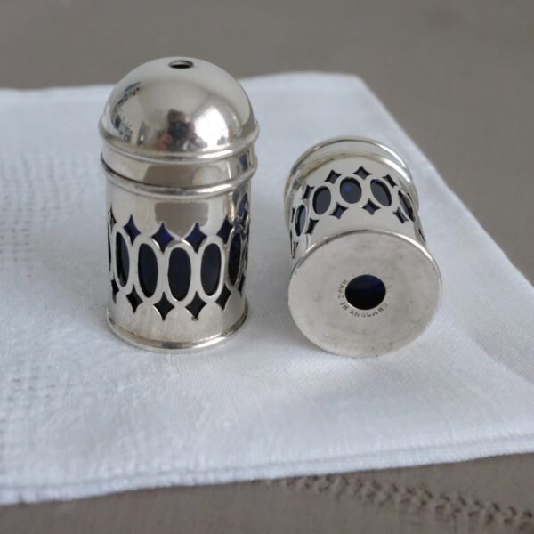 Vintage salt and pepper cruet set