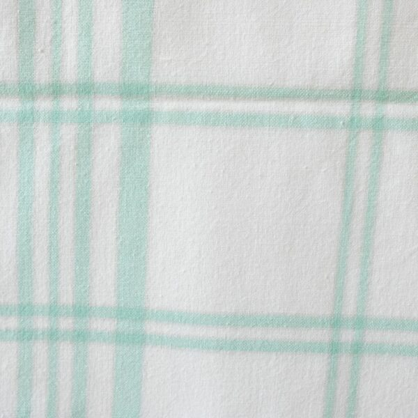 Vintage checked tablecloth