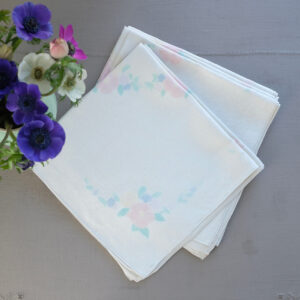 Set of six vintage napkins